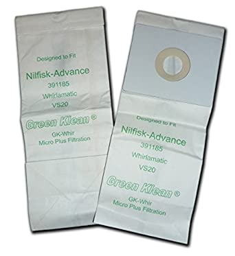 Amazon.com: Verde Klean gk-whirl Nilfisk whirlamatic VS20 ...
