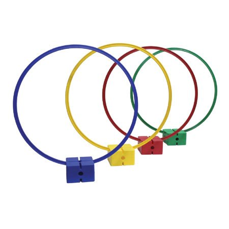 Oncourt Offcourt Hoop Target Set - Set of 4 Hoops