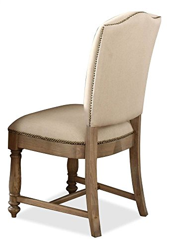(Riverside Furniture Coventry Two Tone Upholstered Side Chair - Set of 2)