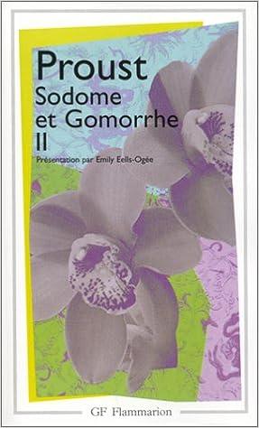 Marcel Proust - Sodome et Gomorrhe - Partie 2