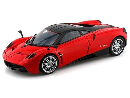 Amazon.com: Pagani Huayra 1/18 Red: Toys & Games