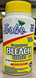 Evolve Concentrated Bleach Tablets, 32 Tablets