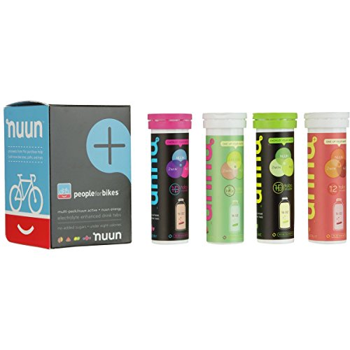 Nuun People For Bikes – 4-Pack Mixed Flavors, 4-Pack