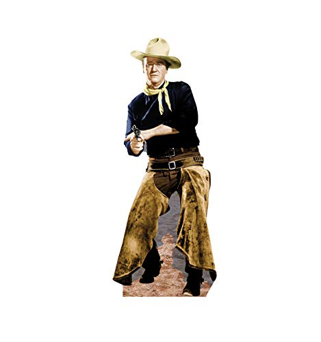 John Wayne Cardboard Cutout - Advanced Graphics John Wayne Chaps Life