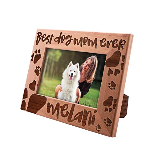 UnitedCraftSupplies Personalized Dog Mom Picture Frames 4x6, 5x7, 8x10 Mom Photo Frame Mom-Mom Frame Mom-Mom Picture Frame for Mothers Day Dog Mom Gifts #8 ()