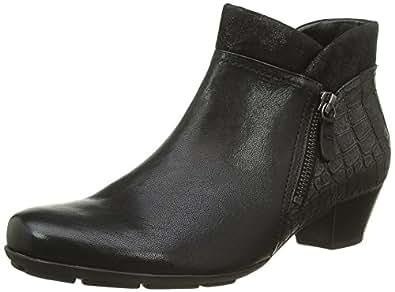 gabor women ankle boots black schwarz. Black Bedroom Furniture Sets. Home Design Ideas