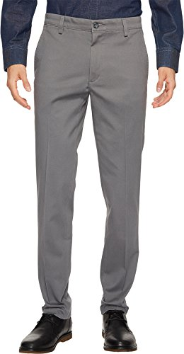 Dockers Men's Slim Fit Easy Khaki Pants, Burma Grey (Stretch), 30W x 30L