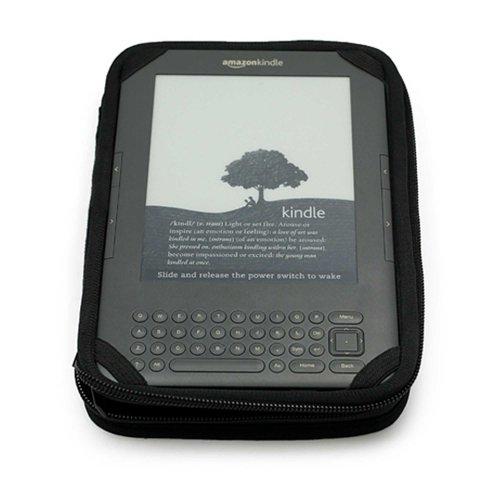 Amazon Kindle Keyboard (Wifi Only , Wifi + 3G) Royal Blue Snug Fit Hardshell Carrying Case + Vangoddy TM, LiveLaughLove wrist - Wifi Keyboard Kindle 3g