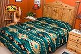 Southwest Indian Style Bedspread-Navajo Pattern -Queen
