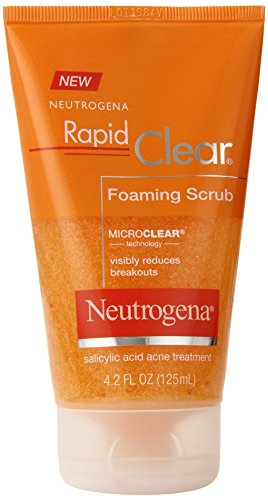 Foaming Pad (Neutrogena Rapid Clear Foaming Scrub, 4.2)