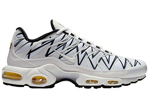 100 black Air Nike Chaussures Plus Blanc Homme white De white Max Fitness fwPvwH