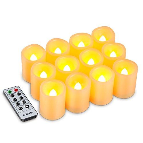 Led Light Pillar Candles in Florida - 7