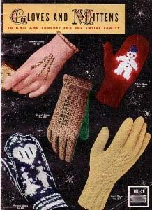 Gloves and Mittens to Knit and Crochet for the Entire Family (Bucilla, Vol 29)