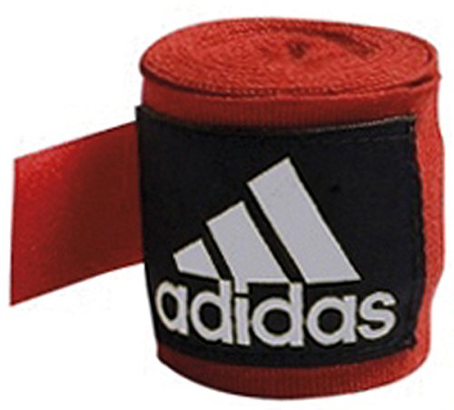 adidas Boxing 2.55m Hand Wraps Red