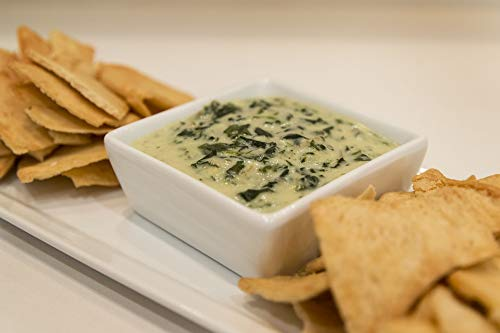 Home Comforts Canvas Print Artichoke Spinach Food Spinach and Artichoke Dip Vivid Imagery Stretched Canvas 32 x 24 ()
