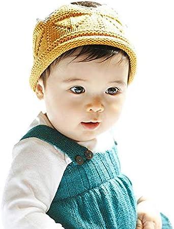 Cinnamou Sombreros y Gorras para bebés Niñas en Forma de Corona ...