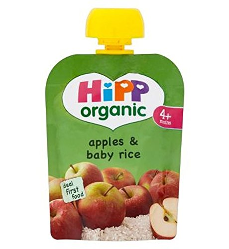 Hipp Organic Apples & Baby Rice 4+ Months 70G - Pack of 2