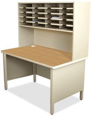 Mailroom 20 Slot Organizer Finish Putty