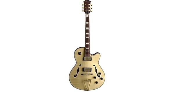 Guitarra eléctrica Stagg Tiger Stripe estilo