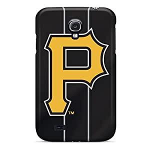 High Quality Mobile Case For Samsung Galaxy S4 With Support Your Personal Customized High-definition Pittsburgh Pirates Image LisaSwinburnson