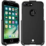 BELTRON Case with Belt Clip for iPhone 8 Plus, iPhone 7 Plus, Slim Full Protection Heavy Duty Hybrid Case & Rotating Belt Cli