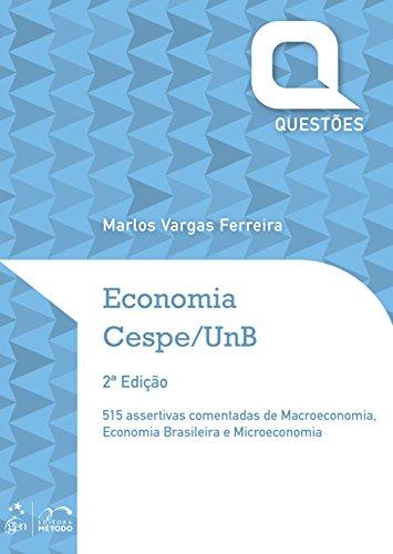 Economia - Questões Cespe/UnB - Série Questões