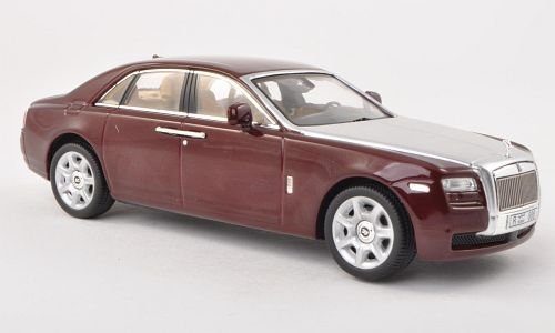 rolls-royce-ghost-metdark-red-silver-lhd-2009-model-car-ready-made-ixo-143