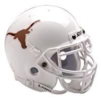 Casco de fútbol Schutt NCAA Mini Authentic XP, Texas Longhorns