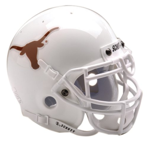 (Schutt NCAA Mini Authentic XP Football Helmet, Texas Longhorns)