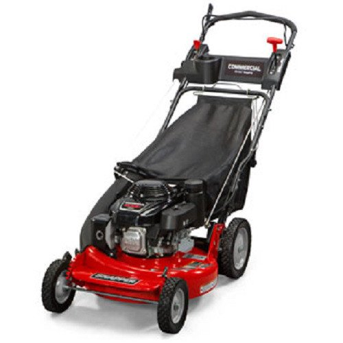 Snapper CP215520HV / 7800849 HI VAC 3-N-1 Rear Wheel Drive Variable Speed Commercial Series Lawn Mower with 163cc Honda GXV160 Engine, 21-Inch Deck and 7 Position Height-of-Cut Commercial Walk Behind Mower