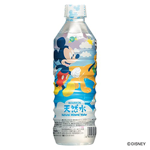 Bourbon Mickey Mouse natural water 500mlX24 this by Bourbon