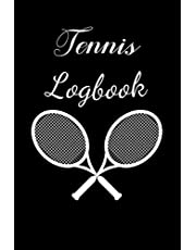 Tennis Logbook: Tennis Log book   Set Goals and Track Progress on Tennis   For any level   Improve your level   Skills and Tricks   Gift idea
