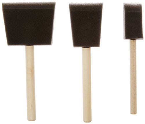Jen Poly Foam Brush Set (3 Pack)
