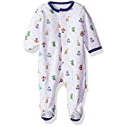Magnificent Baby Baby Infant Magnetic Footie, to The Moon Green, NB