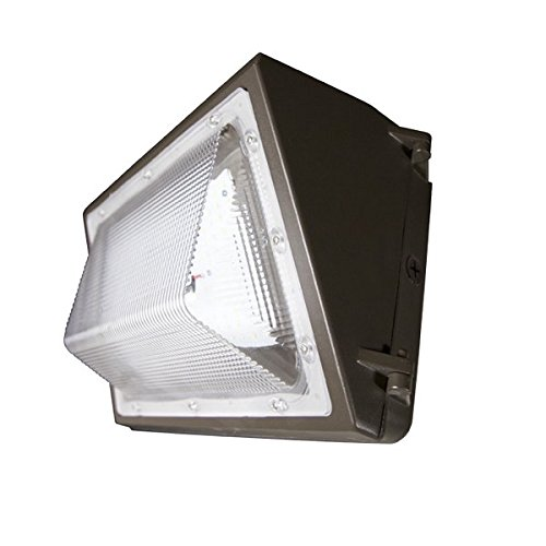 QLS 120W 5000K 14000 lumens LED Wallpack Non Dimmable 250W MH Equivalent by Quality Light Source