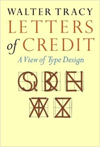 Letters of Credit A View of Type Design Amazon Walter