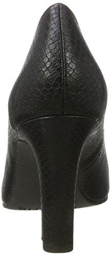 Tamaris 22470, Zapatos de Tacón para Mujer Negro (Black Snake)