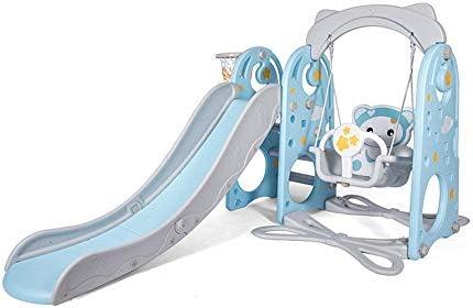 Slide jardín para niños interior y exterior Tres en una diapositiva del niño interior Juego de diapositivas Familia Zona de juegos, de regalo ideal for niños y niñas, Recomendado for Niños de