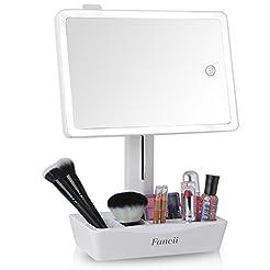 Fancii LED Lighted Large Vanity Makeup M...