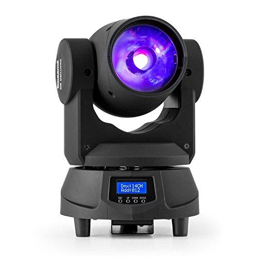 BeamZ Panther 60 Negro – Accesorio de discoteca (Negro, LED, 1 lámpara(s), 60 W, 14 canales, 1-10)