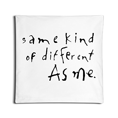 SAMMOI Same Kind Of Different As Me Durable Pillow Case One Size (How To Make Ghostbuster Costume)