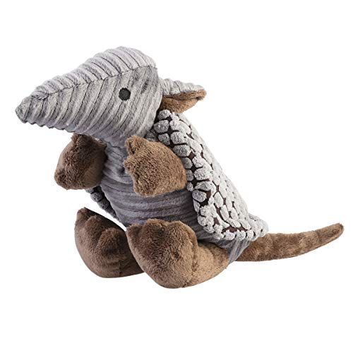 Pet Products Plush - UEETEK Pet Products Plush Toys Dog Chew Toys Pet Cats Cute Biting Sound Squeaky Toys Armadillo Design