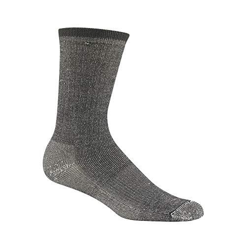(Wigwam Merino Comfort Hiker Lite Socks,Charcoal,Large )