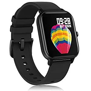 AMATAGE Smart Watch for Android Phones iPhone for Men Women, Fitness Tracker Watch with Heart Rate Monitor , Waterproof…