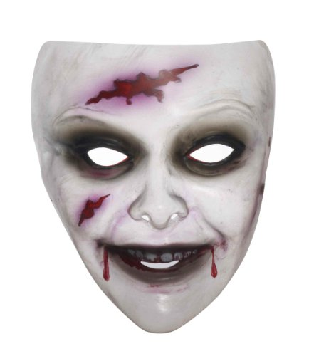 Transparent Women's Zombie Mask - Female Mask For Sale