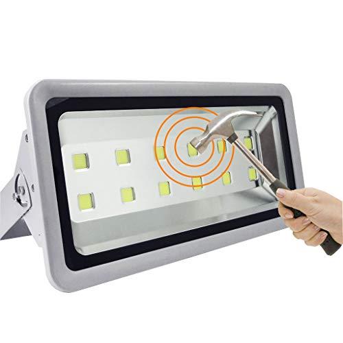 (LED Flood Light Outdoor Work Light Waterproof Lightning Protection IP65 Stadium Engineering Lights Advertising Lights (Color : 600W, Size : Warm white light))