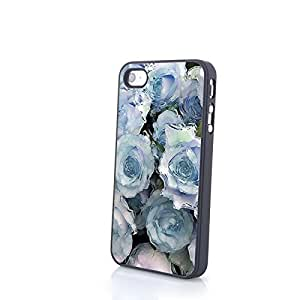 CasePC Phone Cases Charming Beautiful Flowers Matte Pattern fit for Cute Colorful iPhone 4/4S Cases