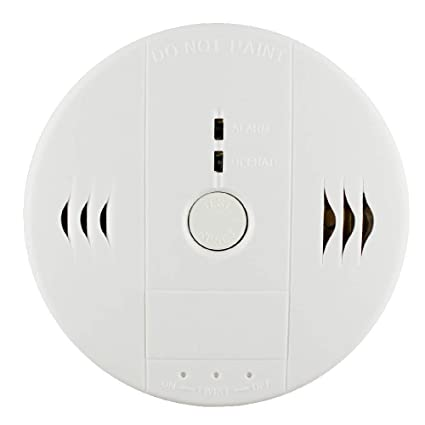 Combination Smoke and Carbon Monoxide Detector Gas Detection Alarm,WJZXTEK Voice Warning Carbon Detector Alarm