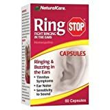NaturalCare RingStop for Ringing and/or Buzzing in Ears, Capsules, 60-Count Bottle