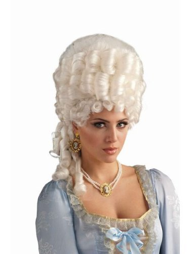 Forum Novelties Women's Marie Antoinette Wig Adult Costume Accessory, Platinum Blonde, One Size